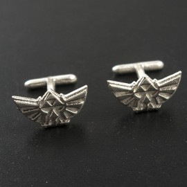Legend of Zelda: Triforce silver Cufflinks