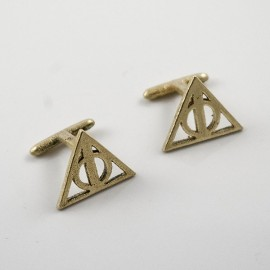 Harry Potter: Cufflinks of the Dealthy Hallows