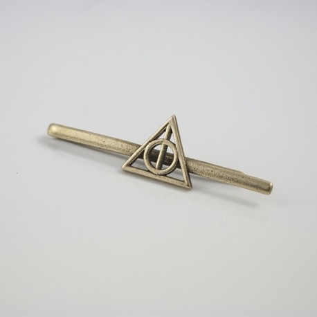 Harry Potter: Tie clip of the Dealthy Hallows