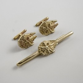 Star Wars: Millennium Falcon Tie Clip and Cufflinks