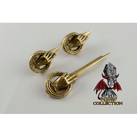 Game of Thrones: Hand of the King Tie Cufflink and Cufflinks