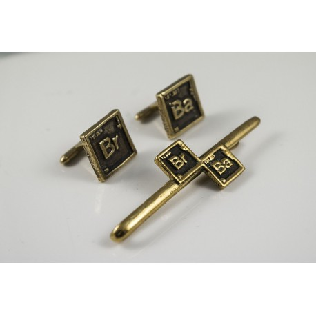 Breaking Bad: tie-clip and cufflinks set