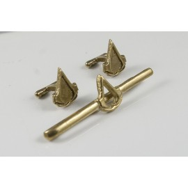 Assassins Creed: tie-clip and cufflinks set