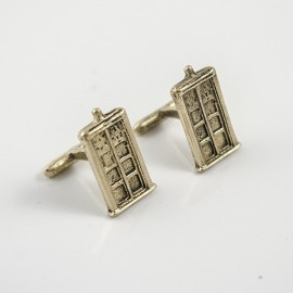 Doctor Who: TARDIS Cufflinks