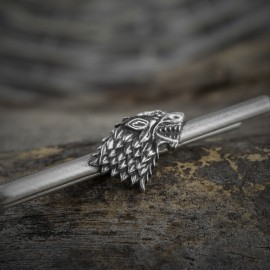 Game of Thrones: Silver House Stark Tie Clip
